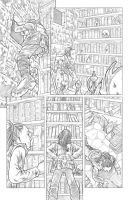 Worlds of Dungeons and Dragons #5, page 8 pencils by JSA