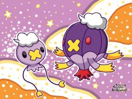Drifloon and Drifblim by 29steph5