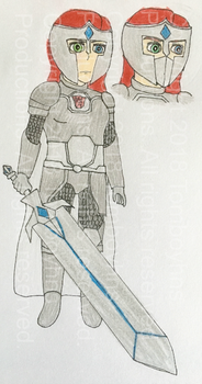 TF:R - I Am Always Enough, I Am the Red Knight by Tomboyhns