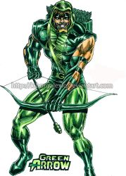 Green Arrow by kiborgalexic