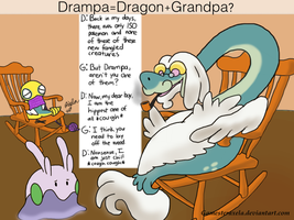 Drampa is a Dragon Grandpa?