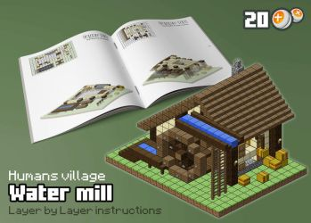 HUM - Water mill by spasquini