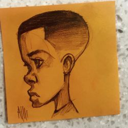 post it doodle by ArmaniStyles