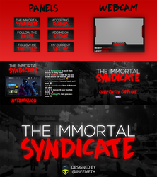 TheImmortalSyndicate Twitch Revamp by infemeth
