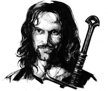 Aragorn son of Arathorn by bouquiniste