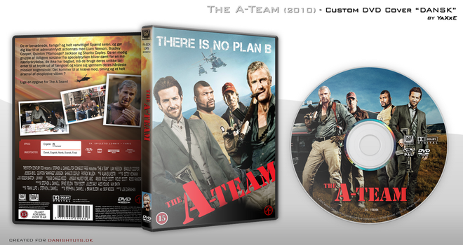 The A-Team DVD Cover by yaxxe