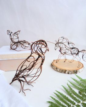 My wire Menagerie! by UrsulaJewelry