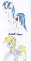 Derpy - Shining Armor by Harpy-Queen