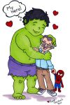 Hulk Love Stan Lee by beckadoodles