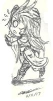 Chibi Kuja by Mischief-Soul-Lover