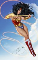 Wonder Woman by JenBroomall
