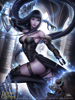 Legend of the Cryptids - Wholehearted Nadie by Zolaida