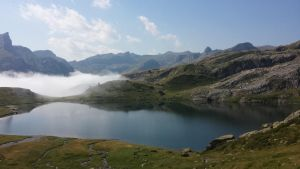 Lake above the clouds by protheus1400