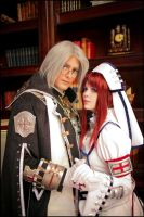 Esther and Abel III by alsquall