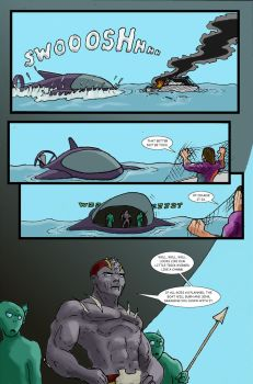 Super Clyde - Water Comic Page 7 Recolored by vytera