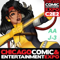 C2E2 This Weekend! by KittysTavern