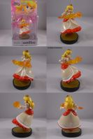 Peach Fire Flower amiibo by ChibiSilverWings