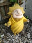 OOAK Rise of the Guardians Sandman Needle Felt by Sarsie