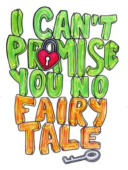 I can't promise no fairytale by Indae