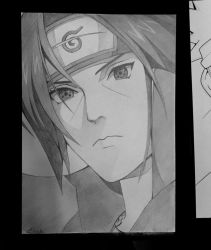Itachi - live commission by Precia-T