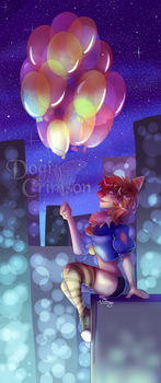 :prize: - Night Time Balloons by Dogi-Crimson