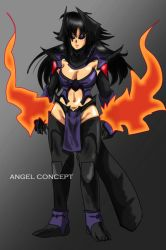 angel concept by anouchis