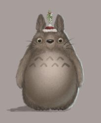 Christmas Totoro by itsLanique