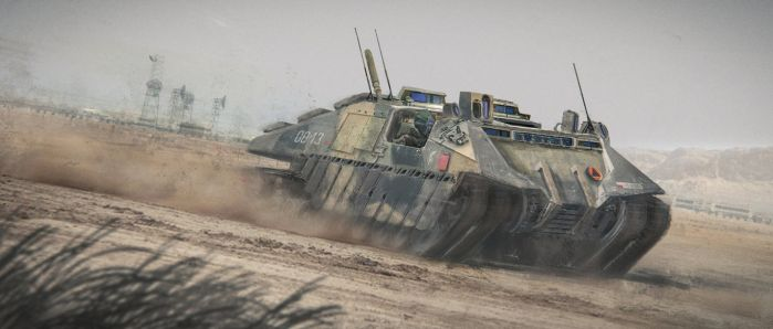 Recon Tank 02 by Nick-Foreman