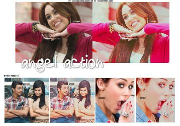 Angel Action+ by ObsessionCelebrities