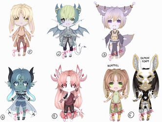 Male adopts CLOSED by PurrineeAdopts