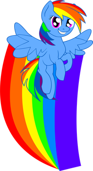 Rainbow Dash Decal by VertAyara