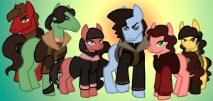 Tahno and His Herd by Kaxen6