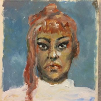 Self portrait (30 minutes) by inicka
