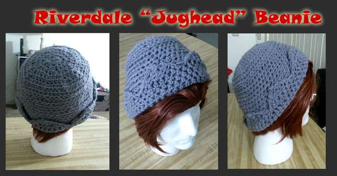 Commission for Riverdale 'Jughead' Cosplay BeanieH by VikaLynnDraws