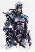 Metal Gear Solid. Solid Snake by IlyaBrovkin