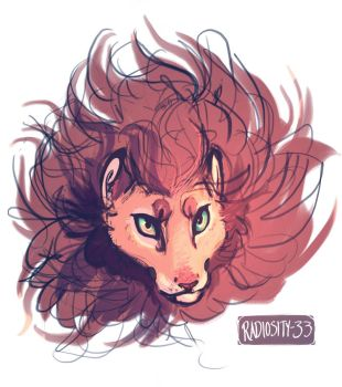 Lion Portrait by pearlls