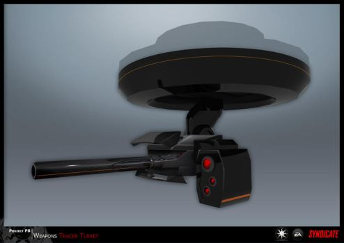 SYNDICATE concept - tracer TURRET by torvenius