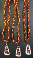 Doctor Who 4th Doctor Scarf Necklaces by LyraAlluse