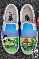 Pearls Before Swine Shoes by BBEEshoes