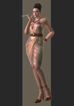 XPS - RE5 - Excella Gionne Tricell Outfit by henryque999