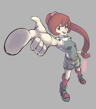 Pokemon Trainer question mark by mattews