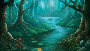 Magic forest by Araniart