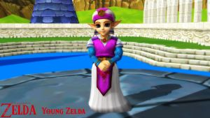 (MMD Model) Young Zelda Download by SAB64