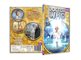 Doctor Who - The Five Doctors Custom DVD Cover by GrantBattersby