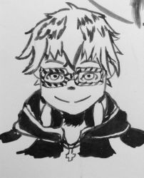 707 inktober rushed doodle by abbey00001