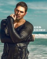 Chris Redfield-Shooted on the beach by markdarko