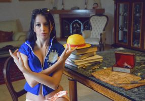 HANA HANA NO MI. Nico Robin New World Cosplay. by LauraJ94