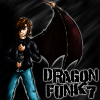 My old avatar for my let's play channel by Dragonfunk7