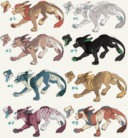 Vernid batch Flat price [3/8 OPEN] by arcanid