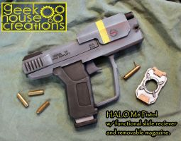 HALO UNSC M6 by geekhousecreations